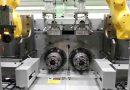 KITAKO-SHIMADA HS4200 Four Spindle CNC Horizontal Lathe With Robot